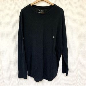 PACSUN LARGE BLACK LONG SLEEVED THERMAL!!!